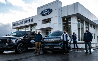 Terrace Totem Ford news release