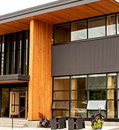 Trades facility Cedar building
